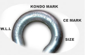 Screw PIN Anchor Shackle KONDO